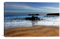 HEBRIDES BEAUTIFUL BAYBLE BEACH OF LEWIS 19, Canvas Print