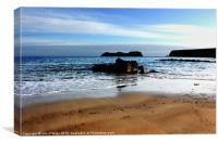 HEBRIDES BEAUTIFUL BAYBLE BEACH OF LEWIS 20, Canvas Print