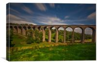 Thornton Viaduct, Canvas Print