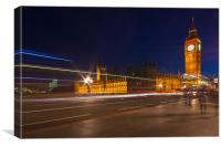 LONDON NIGHTLIFE, Canvas Print