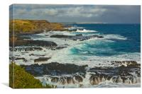 RUGGERED COAST OF VICTORIA AUSTRALIA, Canvas Print