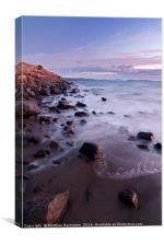 Tasmanian coast , Canvas Print