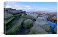 Stanage Edge Hathersage, Canvas Print