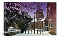 Wirksworth Parish Church, Canvas Print