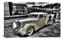 Alvis - Vintage Motor Vehicle, Canvas Print
