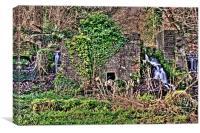 Kersney Abbey Ruins, Canvas Print