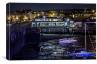 Rocksalt Restaurant Folkestone Harbour, Canvas Print