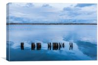 Pilings, Canvas Print