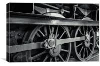 Steel Wheels, Canvas Print