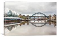 Quays, Canvas Print