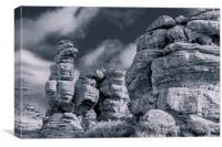 Rocks, Canvas Print