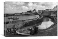 Tenby Harbour, Canvas Print