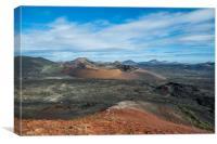 Volcanoes, Canvas Print