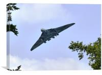 Vulcan flight, Canvas Print