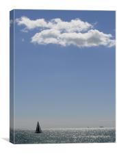 All at Sea, Canvas Print