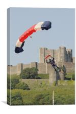 Dover Parachute Display, Canvas Print