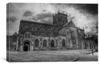 Sherborne Abbey, Canvas Print