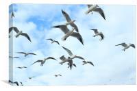 In Flight, Canvas Print