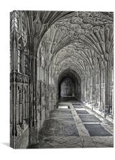 Gloucester Catherdral, Canvas Print