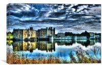 Leeds Castle., Canvas Print