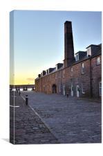 City Quay Dundee, Canvas Print