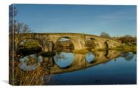 Seeing Double at Stirling Bridge, Canvas Print