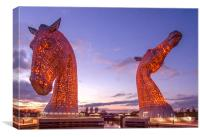 The Kelpies Remember, Canvas Print