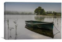 Morning Mist on Loch Ard, Canvas Print
