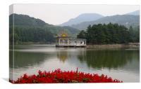 China Lu Mountain, Canvas Print