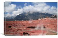 Li Jiang Yulong snow mountain in China, Canvas Print