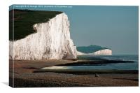 Two Sisters Seven Sisters, Canvas Print