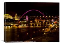 Newcastle, Canvas Print