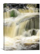 water fall, Canvas Print