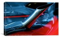 Mclaren Mercedes formula 1 abstract, Canvas Print