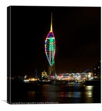 Spinnaker Tower Portsmouth Harbour, Canvas Print