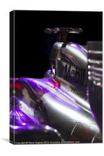 McLaren Formula 1 car, Canvas Print
