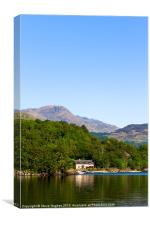 Looking across Loch Lomond, Canvas Print