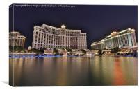 Bellagio Hotel, Las Vegas, Canvas Print