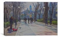 Cuesta Genil, Granada, Canvas Print