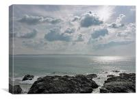 A Perfect Cornish Afternoon, Canvas Print