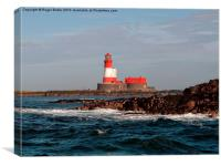 Longstone Lighthouse, Canvas Print