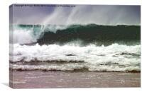Surf Wave 1, Canvas Print