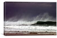 Surf Wave 2, Canvas Print