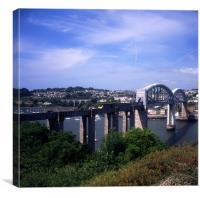 Royal Albert Bridge - HST, Canvas Print