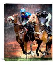 Full speed ahead, Canvas Print