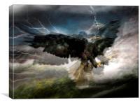 I sea eagles, Canvas Print