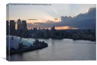 Docklands View, Canvas Print