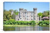 johns town castle ireland, Canvas Print