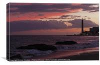 Maspalomas Sunset, Canvas Print