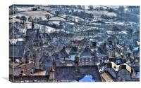 Wirksworth, Canvas Print